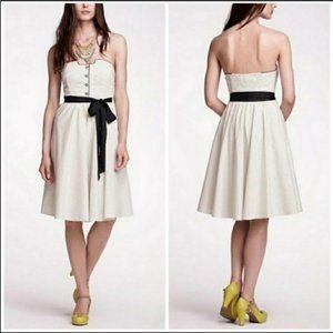 Anthropologie Girls of Savoy Novella Flare Dress